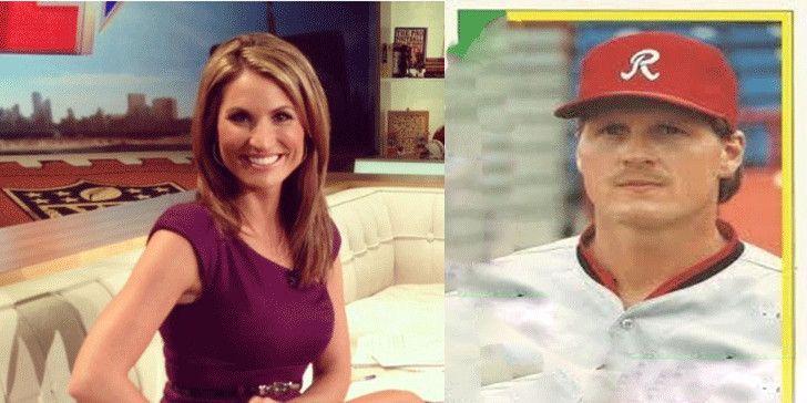 Anker Nicole Zaloum er lykkelig gift med baseballspilleren Mike Jones, Vet om deres forhold