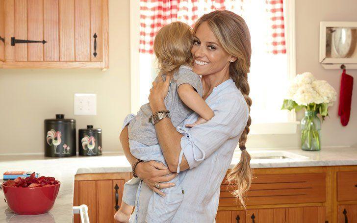 Nicole Curtis y su segundo bebé